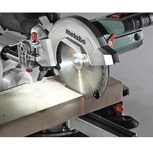 Scie à traction et à onglet radiale Metabo KGS 254 M avec lame de scie 254x30 mm-thumb-3