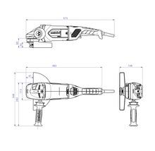 Meuleuse d''angle Metabo WE 22-230 MVT-thumb-2