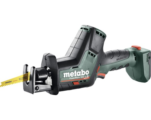 Scie sabre sans fil Metabo 18V PowerMaxx SSE 12 BL, sans batterie ni chargeur