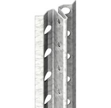 Profilé pour enduit à prise rapide, acier, 6mm longueur: 2,50m zingué lot de 50pièces-thumb-0