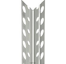 Profilé d''angle à crépir en acier inoxydable 5mm, longueur: 2,50m, lot de 25pièces-thumb-0