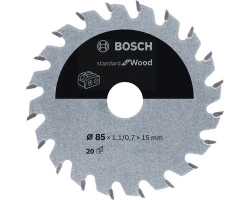 Lame de scie circulaire Standard for Wood H Ø 85x15 Z20