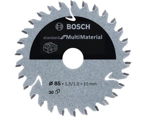 Lame de scie circulaire Standard for Multi Material H Ø 85x15 Z30