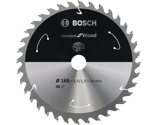Lame de scie circulaire Standard for Wood H Ø 165x20 Z36