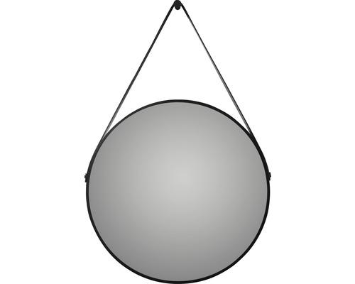 Designspiegel DSK Black Belt matt Ø60cm