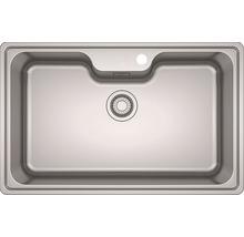 Évier encastrable PICCANTE Livia 80, acier inoxydable-thumb-0