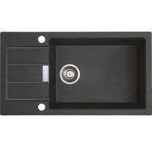 Évier encastrable PICCANTE Maura 60 XL, granit graphite-thumb-0