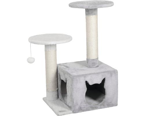 Arbre à chats Saphir light 50x38x80cm gris