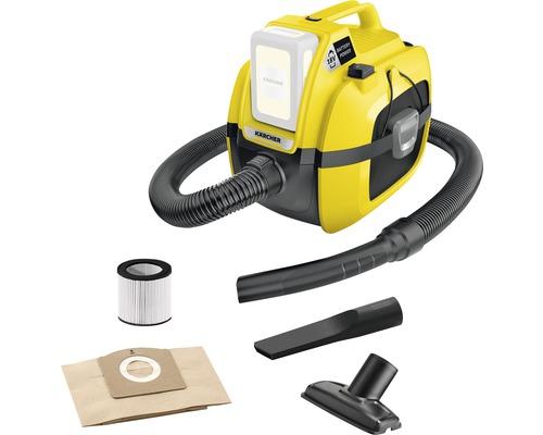 Aspirateur à eau et à poussière Kärcher WD 1 Compact Battery, sans batterie ni chargeur
