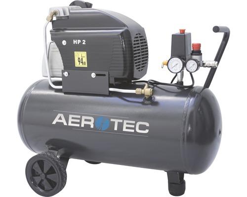 Compresseur Aerotec Zenith 50l 10Bar lubrifié à l''huile 230V