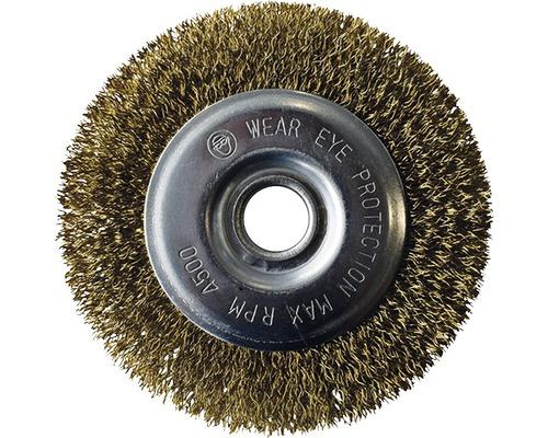 Brosse métallique acier GLORIA pour tous les appareils BRUSH sauf PowerBrush