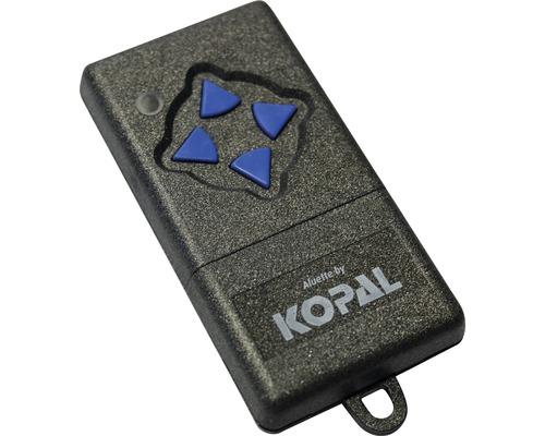 Émetteur portatif GAH Alberts 4canaux pour lecteur de portail coulissant électrique fréquence 868MHz