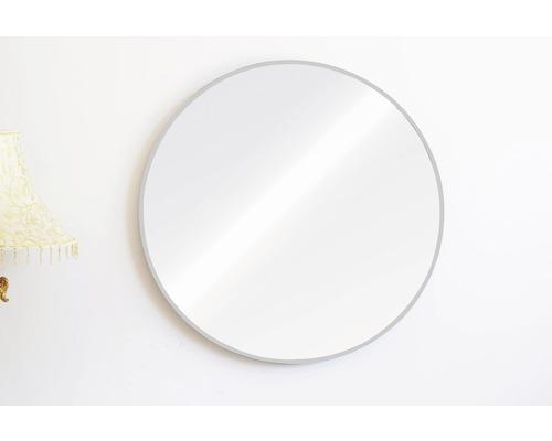 Spiegel Chicago Aluminium rund silber Ø 60 cm