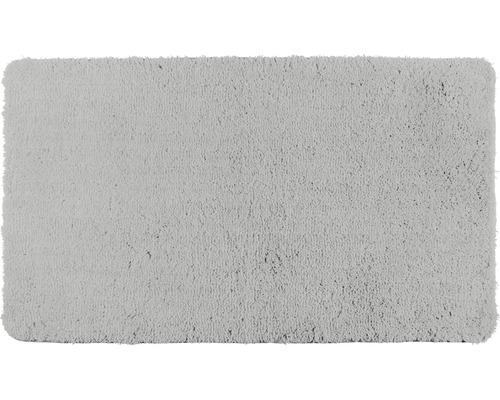 Badematte Belize hellgrau 55 x 65/3 cm Micropo