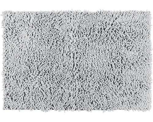 Badematte Chenille 50 x 80 cm light grey