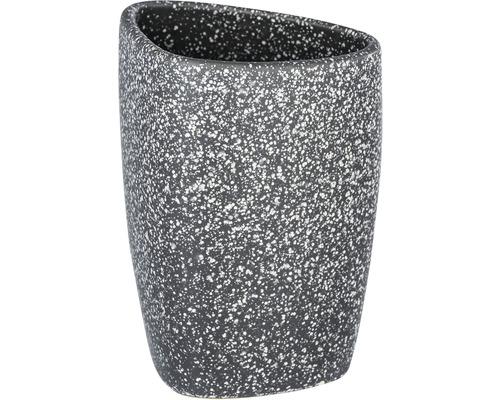 Gobelet à dents en céramique Pion gris