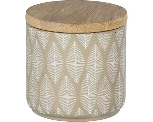 Boîte multi-usages en céramique Tupian beige