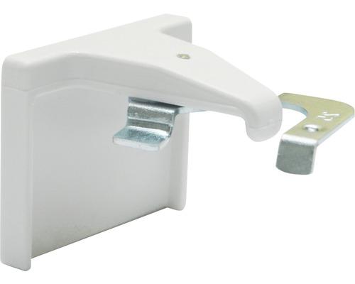 Kit de supports adhésifs pour stores vénitiens alu blanc