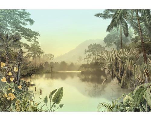 Papier peint photo intissé Lac Tropical 8pièces 400x270cm