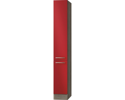 Armoire à pharmacie Optifit Imola largeur 30 cm rouge