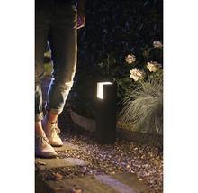 Borne LED Philips hue Fuzo White 15W 1150 lm 2700 K blanc chaud noir h 400 mm - compatible avec SMART HOME by HORNBACH-thumb-3