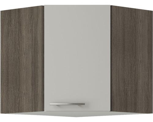 Armoire suspendue d''angle Optifit Arta largeur 60 cm beige