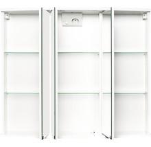Armoire de toilette Modena LED blanc-thumb-1