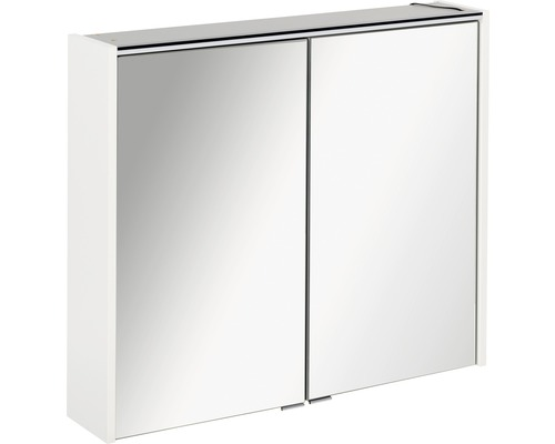 Armoire salle de bains à miroir FACKELMANN Denver Hype3.0 blanc 80x68,5cm