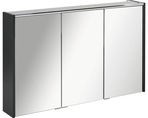 Armoire salle de bains à miroir FACKELMANN Denver Hype3.0 anthracite  110x68,5 cm