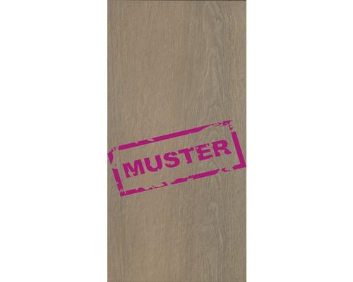 Échantillon de dalle de terrasse en grès cérame fin Flairstone Wood Mocca