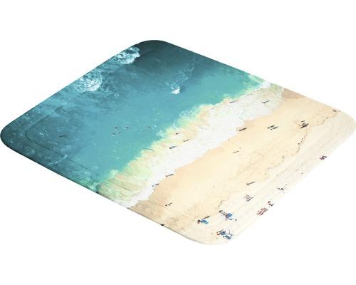 Tapis antidérapant pour douche Kleine Wolke Waikiki 55 x 55 cm multicolore