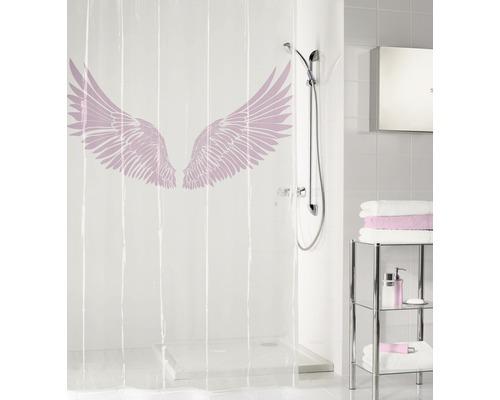 Duschvorhang PEVA Wings Flamingo 180 x 200 cm