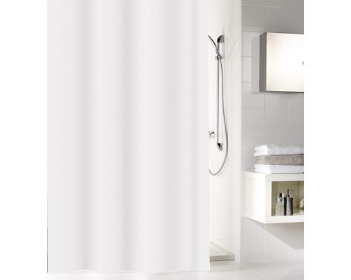 Rideau de douche PEVA Sparkle blanc 180x200 cm