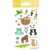 Mini-autocollants jungle animaux-thumb-0
