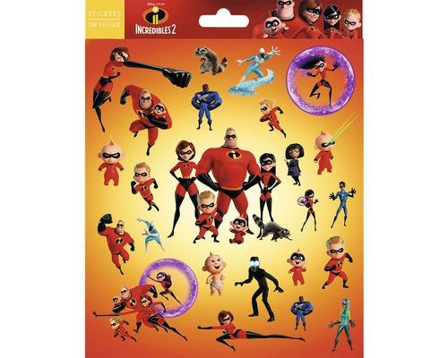 Mini stickers Les Indestructibles 24pces