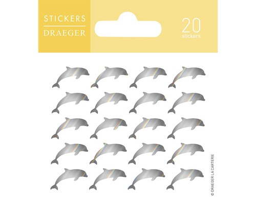 Mini stickers Dauphins 20pces