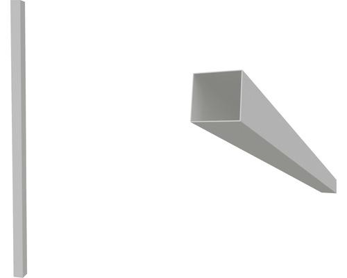 Poteau 9x9x275 cm gris-0