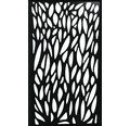 Insert design Konsta WPC large aluminium, noir