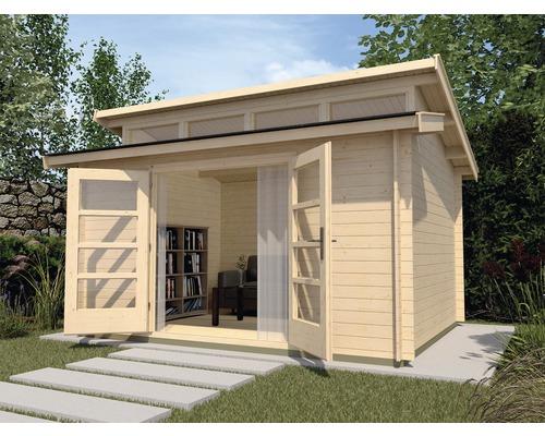 Abri de jardin weka She Shed 158 taille2 avec plancher 380x300cm, nature