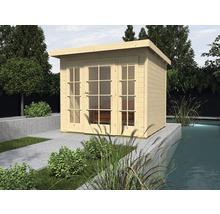 Abri de jardin weka Panorama 172 taille2 avec plancher, 295x299cm, nature-thumb-0