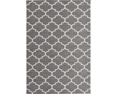 Tapis d''intérieur et d''extérieur Indonesia Batu gris 120x170cm