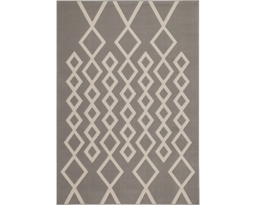 Tapis Lina 400 taupe ivoire 120x170 cm