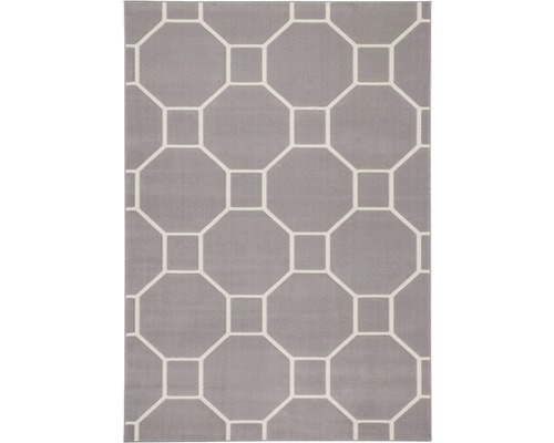 Tapis Lina 100 taupe ivoire 200x290 cm