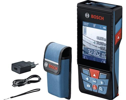 Télémètre laser Bosch Professional GLM 120 C avec accessoires de transport