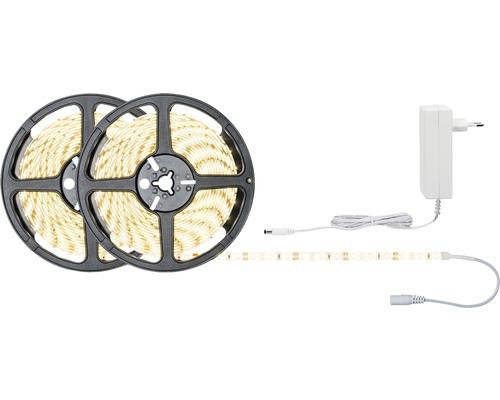Kit de bande SimpLED prêt à l''emploi 10 m 1920 lm 3000 K blanc chaud 600 LED revêtu 12V