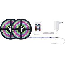 Kit de bande SimpLED Motion RGB prêt à l''emploi 10,0 m 17W 650 lm changement de couleur RGB + télécommande 300 LED revêtu 12V-thumb-1
