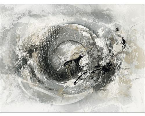 Tableau sur toile Grey & Silver III 84x116 cm