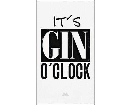 Panneau décoratif Gin O`Clock 15x30 cm