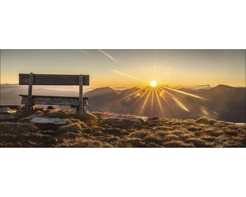 Tableau en verre Bench & Horizon 50x125 cm