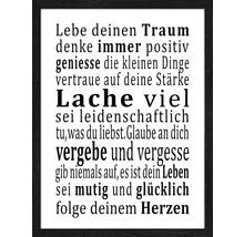 Image encadrée Lebensweisheit 33x43 cm-thumb-0